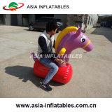 يحجل حصان قزم خارجيّ قابل للنفخ كرنافال لعبة