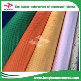 DOT/Cross colorido Nonwovenfabric el 100% PP para el guardarropa del paño