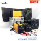 12V 26Ah de charge solaire rechargeable portable AC DC Banque d'alimentation (intégré dans le convertisseur de puissance 500 W)