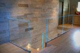 Sin cerco canal U de aluminio Cristal LED Baranda balaustrada Australia