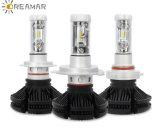 50W 6000lm светодиодный индикатор автоматического корректора фар автомобиля с 3 видами красочной пленки