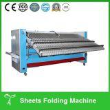 Tischdecke-faltende Maschine, Blatt-faltendes Maschinen-automatisches Faltblatt