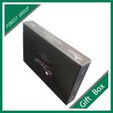 Cajón Negro rígido Caja de regalo con laminado mate