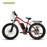 後部ブラシレス48V1000W脂肪質のタイヤの電気自転車500W