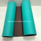 Couvre-tapis en gros de yoga d'exercice de gymnastique de bande d'Eco de qualité