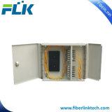 FTTH/FTTX 12/24/48/72ポートまたはコアODF/Cabinet壁の台紙の光学か視覚のファイバーパッチ・パネル