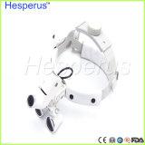 lupas dentales Hesperus de la operación LED del cirujano de la lupa 3.5X
