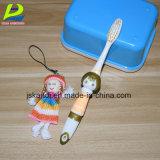 Kinderbetreuung-Gummi-Zahnbürste senden Karikatur-Spielwaren