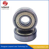 Macchina di plastica della marcatura del laser della fibra dell'argento dell'oro del metallo dell'acciaio inossidabile