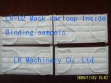 Nonwovenマスクの内部のEarloopの溶接機