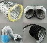 Qualität garantierter Glaswollen flexibler Belüftung-Leitung-Aluminiumfolie-Leitung-KlimaanlagePortable