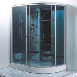 Quarto de chuveiro controlado por computador do sexo do banheiro com baixa bandeja 120X80