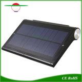 Sensor de movimiento infrarrojo ultracompacto Solar jardín al aire libre de la luz de pared