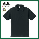 Camisa de polo del piqué de los hombres ocasionales modificados para requisitos particulares insignia privada del algodón