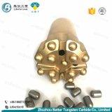 Botão cônico T45 Bits/Botão de rosca Bits/Brocas para todos os tipos de rochas e concreto