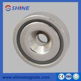 Pot-rpm do magneto25 com suporte magnético escareados