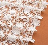 100% strickendes Spitze-Nylongewebe in Guangzhou für Kleid