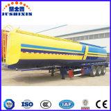 Chinesischer 52000L Kraftstofftank-halb Schlussteil-Öltanker-LKW-halb Schlussteil