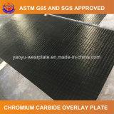 Placa do desgaste do carboneto do cromo para a fábrica de vidro