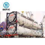 contenitore del serbatoio di iso utilizzato memoria del gas liquido di 40ft 20ft (SEFIC-T11/T41/T50/T75)