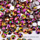 Ss8 Ss20 Ss30 nam de Gouden Bergkristallen niet Hotfix Strass toe van het Glas van het Kristal van Ab (fB-nam gouden ab/3A toe)