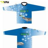 قميص صيد أسماك الجيرسي بالأكمام الطويلة التي تسمح بمرور الهواء