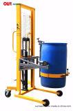 Elevação manual e manual de inclinação do tambor para verter o tambor ergonómico da450