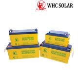 Garantía de 3 años de ciclo profundo 12V Batería de móvil de gel para la carga de energía solar