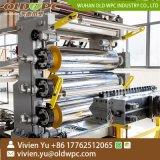 De tuiles en plastique plaque murale de la bande de feuille de profil de la plaque de marbre synthétique en PVC de décisions de la machinerie