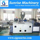 extrudeuse à double vis conique du plastique PVC tuyau en PVC Machine de l'extrudeuse