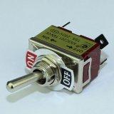 Dpst 15A PCB 4 Pinのトグルスイッチを離れて