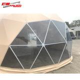 Tenda impermeabile libera della cupola, tenda mezza della cupola del partito trasparente