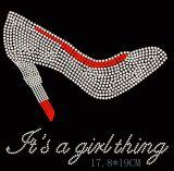 [هوت بينك] [هي هيل] أحذية ألاباما [رهينستون] إنتقال تصميم