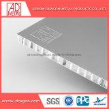 Revêtement en poudre léger en aluminium haute rigidité Panneaux de bardage colonne Honeycomb/ capot colonne