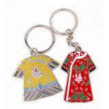 공장 고품질 도매 중국 사람 복장 금속 열쇠 고리