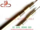 Cavo dell'antenna del rivestimento di PVC del cavo coassiale Rg59 TV