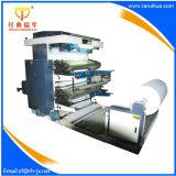 Máquina de impresión Flexo de 4 colores con el rodillo anilox cerámica