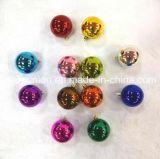 Caja de PVC Baubles brillantes bolas de Navidad Decoración de Navidad S3-RB