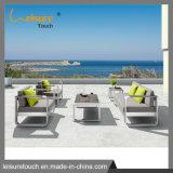 Lounge Pátio exterior moderno impermeável Sofá Mobiliário de Ajuste