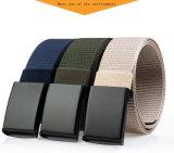 Cinghia di vita di nylon di svago del Jean della cinghia della tessitura di falsificazione liscia dell'inarcamento
