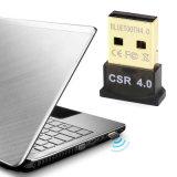 Adaptador Bluetooth V4.0 Música Transmisor Receptor inalámbrico USB Mini Bluetooth Dongle