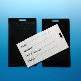 Keytag combinato su ordinazione del PVC della modifica di bagaglio di linea aerea della firma di RFID