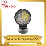 Redonda negra 12V 24V 90W de luz LED de trabajo CREE