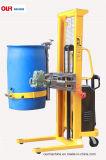 520kg容量は電気ドラムダンプ、ドラムを注いだり、ドラムをたたくトラックYl520を縦持ち上げる