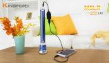 屋外のMultifunctional 200lumen Camping Flashlight 3*18650 Rechargeable Torch