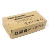Solo Sc20km de fibra óptica Gigabit Media Converter CC12V
