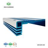 Het Profiel van het aluminium voor Heatsink met het Duidelijke Anodiseren & CNC het Machinaal bewerken
