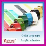 BOPP/OPP de acrylKleefstof Gekleurde Verzegelende Band van het Karton van de Band van de Verpakking