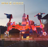 Gran parque de atracciones atracciones emocionantes paseos en la carrera de aire giratoria para la venta