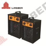 Met handgreep draagbare PTC elektrische keramische warmteluchtventilator Verwarming